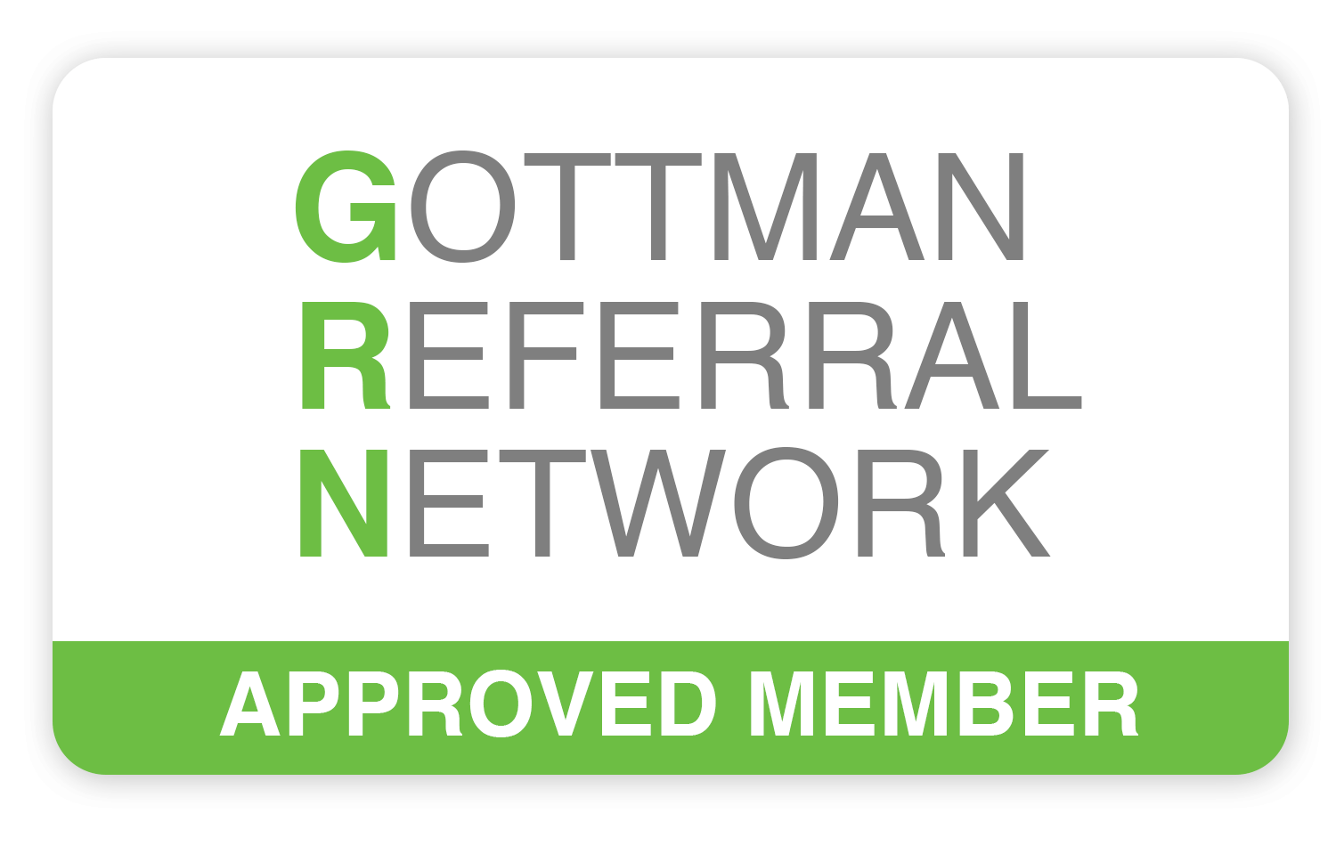 Rachel Hendron's profile on the Gottman Referral Network